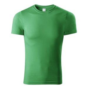 Adler Tričko Paint - Středně zelená   S