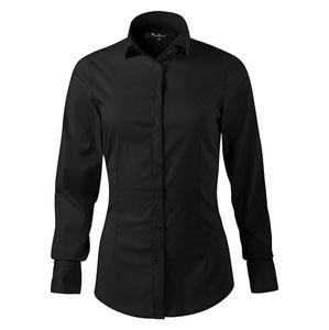 Adler Dámska košeľa s dlhým rukávom Dynamic - Černá | L