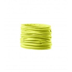Adler Multifunkčná šatka Twister - Neonově žlutá | uni