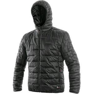 Canis Pánska zimná prešívaná bunda LOUISIANA - Černá | XXXL