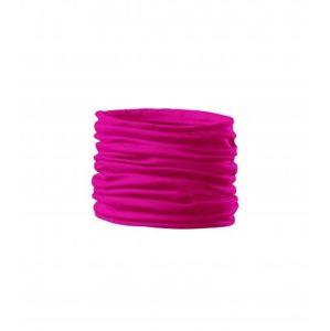 Adler Multifunkčná šatka Twister - Neonově růžová | uni