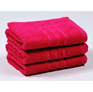 Dobrý Textil Osuška Economy 70x140 - Purpurová | 70 x 140 cm