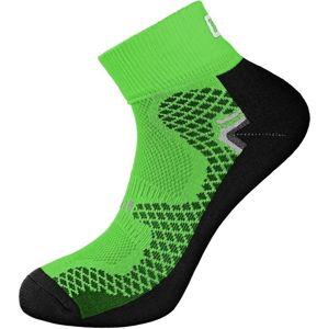 Canis Funkčné ponožky SOFT - Zelená / černá | 42