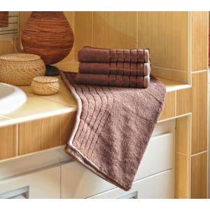 Polášek Bambusový uterák - Čokoládová | 50 x 100 cm