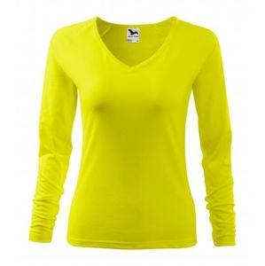 Adler Dámske tričko s dlhým rukávom Elegance - Citrónová | XS
