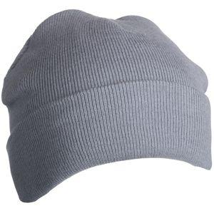 Myrtle Beach Zimná pletená čiapka Thinsulate MB7551 - Světle šedá