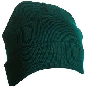 Myrtle Beach Zimná pletená čiapka Thinsulate MB7551 - Tmavě zelená