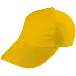 Myrtle Beach Detská 5P šiltovka MB7010 - Zlatě žlutá