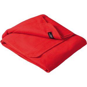 James & Nicholson Jednofarebná deka 130x180 cm JN900 - Červená | 130 x 180 cm