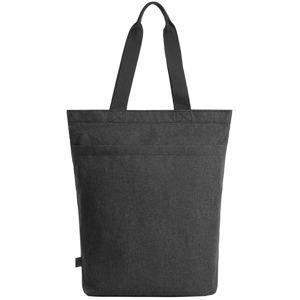 Halfar Pevná nákupná taška CIRCLE - Černá kropenatá