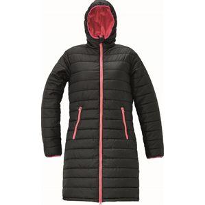 Cerva Dámska dlhá zimná bunda FIRTH LADY LONG - Černá | L
