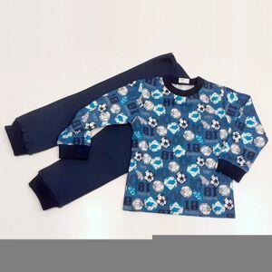Chráněné dílny AVE Strážnice Detské pyžamo futbal - 104 cm