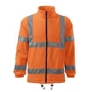 Adler Reflexná fleecová bunda HV Fleece Jacket - Reflexní oranžová   XL