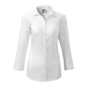 Adler Dámska košeľa s trojštvrťovým rukávom Style - Bílá | XXL