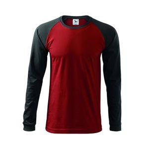 Adler Pánske tričko s dlhým rukávom Street LS - Marlboro červená | L