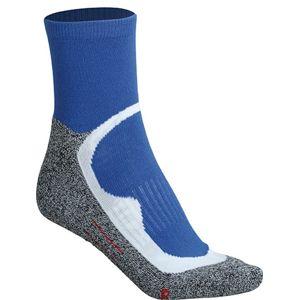 James & Nicholson Športové ponožky členkové JN210 - Královská modrá | 39-41
