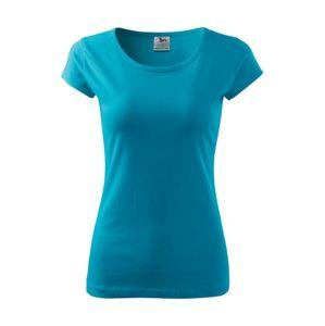 Adler Dámske tričko Pure - Tyrkysová | S