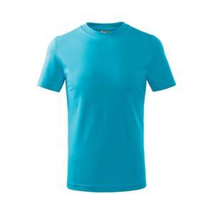 Adler Detské tričko Basic - Tyrkysová | 110 cm (4 roky)