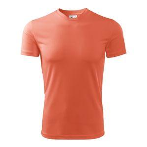 Adler Detské tričko Fantasy - Neonově oranžová   122 cm (6 let)