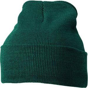 Myrtle Beach Zimná čiapka Classic MB7500 - Tmavě zelená