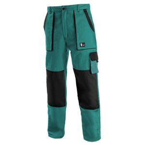 Canis Pracovné nohavice CXS LUXY JOSEF - Zelená / černá | 48