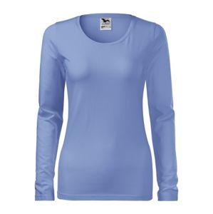 Adler Dámske tričko s dlhým rukávom Slim - Nebesky modrá | XS