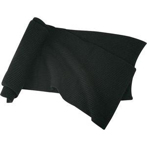 Myrtle Beach Hrubo pletený šál MB504 - Černá
