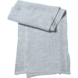 Myrtle Beach Hrubo pletený šál MB504 - Světle šedý melír