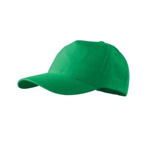 Adler Šiltovka 5P - Středně zelená   uni