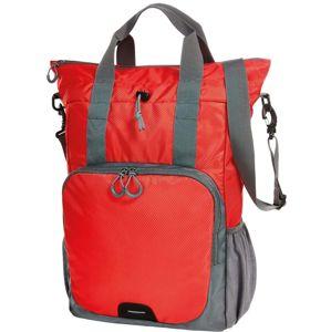 Halfar Viacúčelový batoh a taška 2v1 - Červená