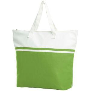 Halfar Veľká plážová taška SOUL - Světle zelená