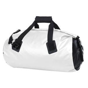 Halfar Nepremokavá športová cestovná taška SPLASH - Bílá